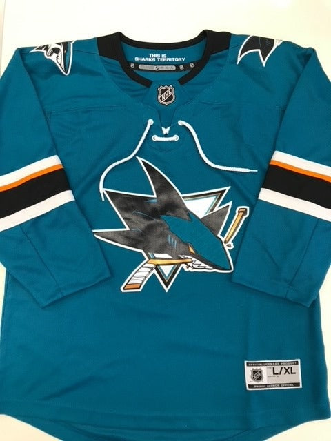 Youth Home Teal Blank Jersey