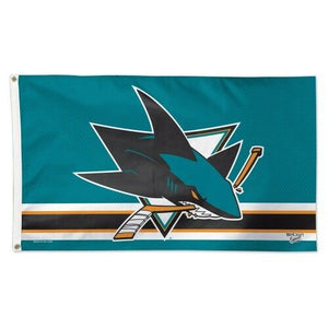 San Jose Sharks Deluxe Flag 3' X 5'
