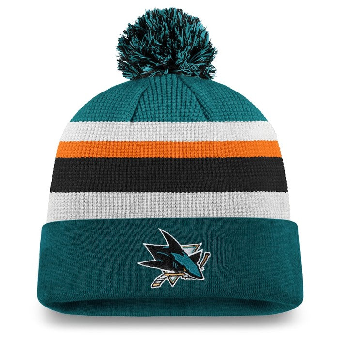 San Jose Sharks Pom Knit Hat