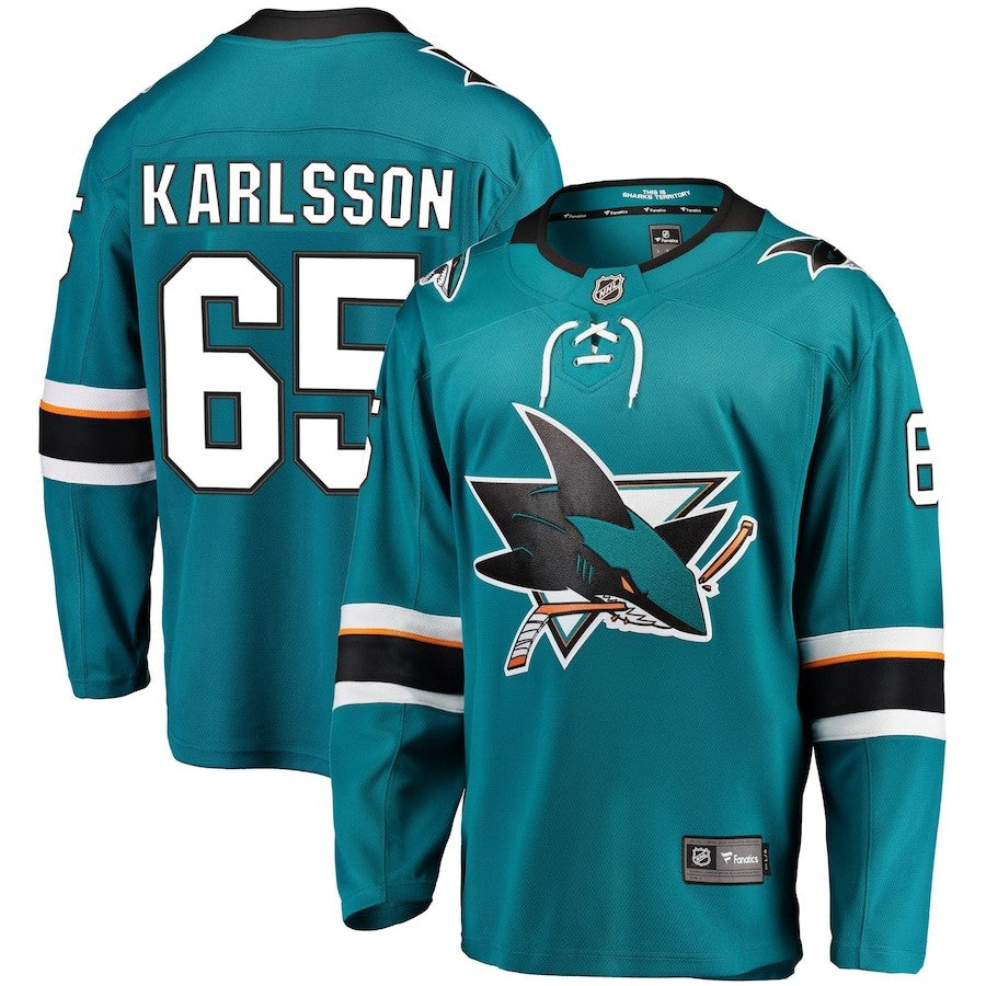 Men's Erik Karlsson Fanatics Jersey-Home