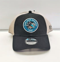 Load image into Gallery viewer, Est. Circle Logo Trucker Snap-Blk