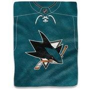 "The Northwest Company San Jose Sharks 50"" x 60"" Raschel Blanket"