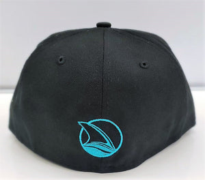 Stealth Logo Fitted-Blk