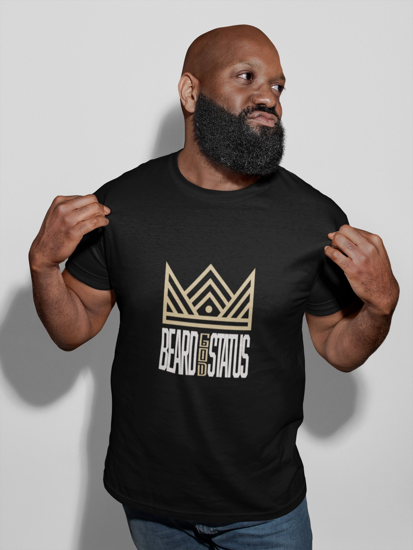 Beard God Status Tee - Angie Watts