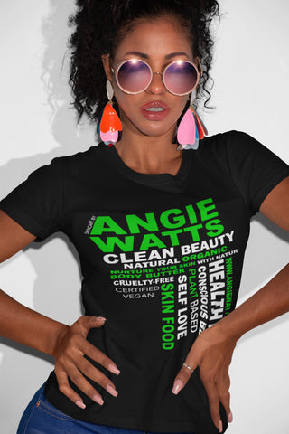 Clean Beauty Tee - COMING SOON - Angie Watts