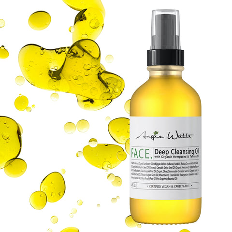Angie Watts Depp Cleansing Oil with Oil Drops