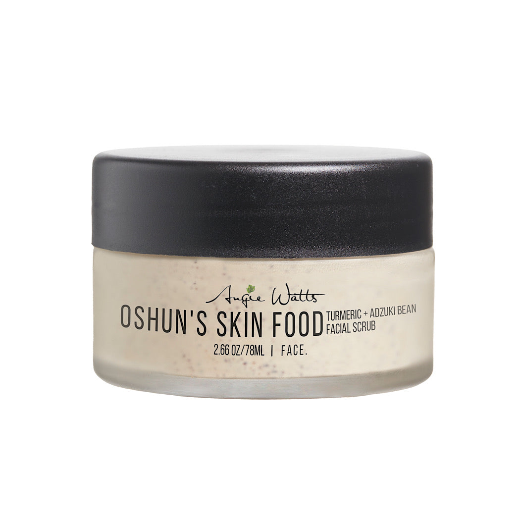 Angie Watts FACE. Oshun's Skin Food Facial Scrub