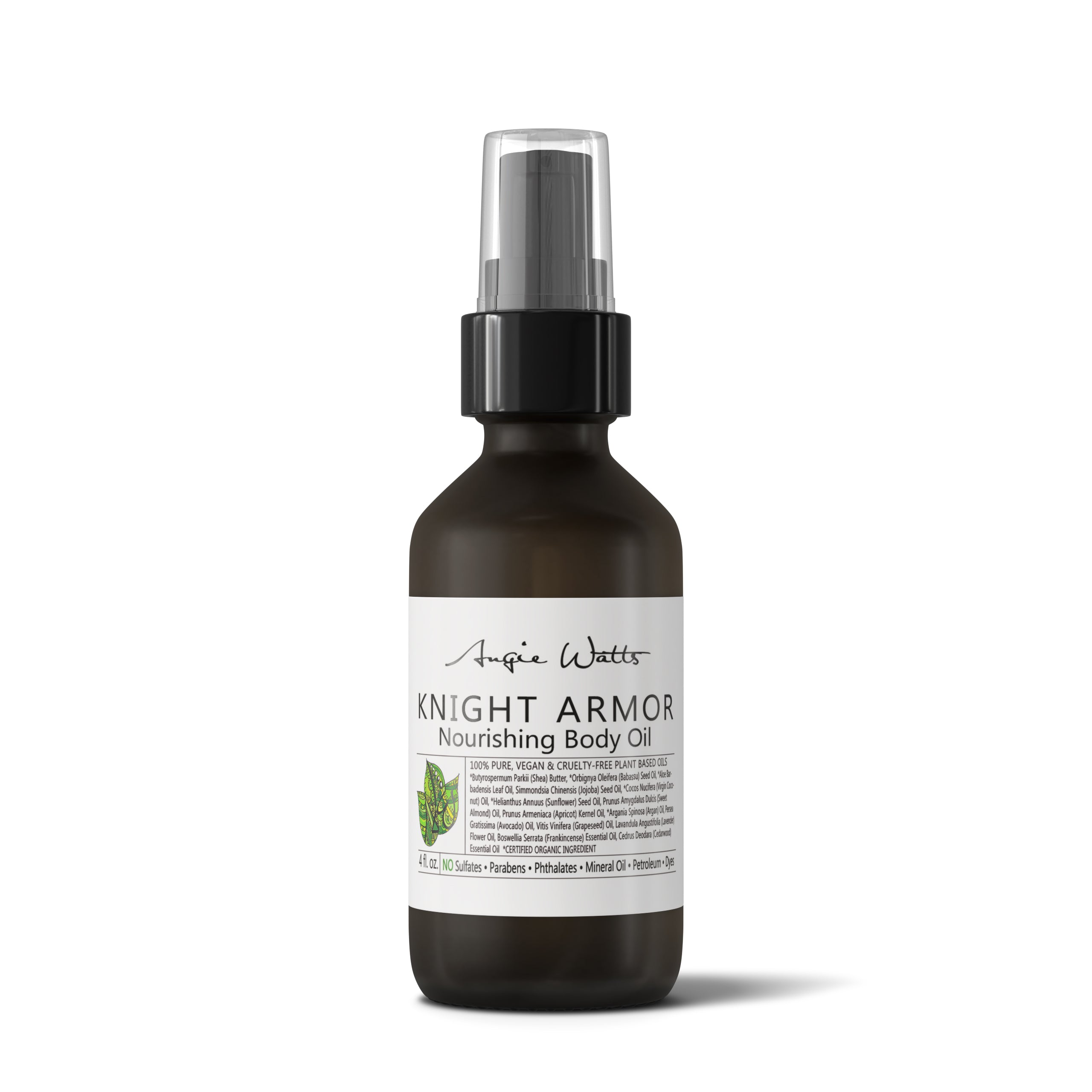 Angie Watts Knight Armor Nourishing Body Oil