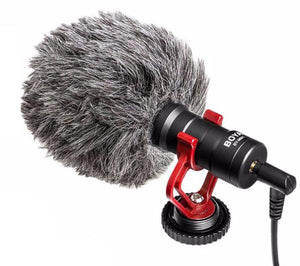 1. MICROPHONE: Viewers can tolerate shaky video, but not a squeaky sound