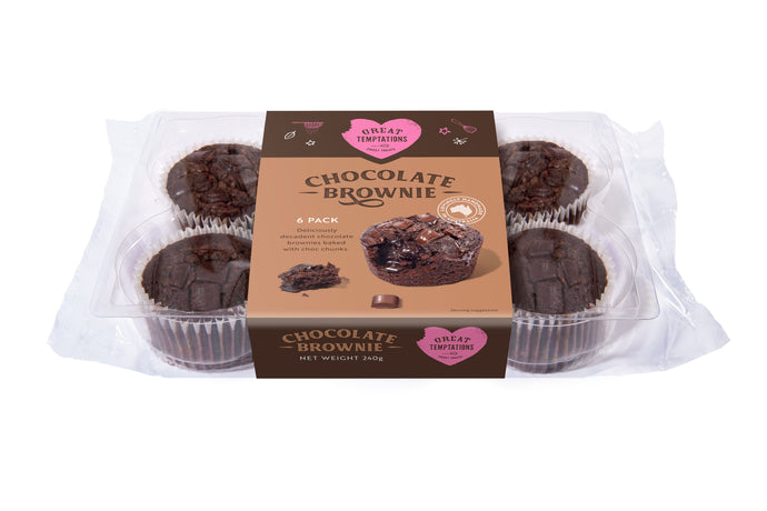 Brownies - 6 Pack
