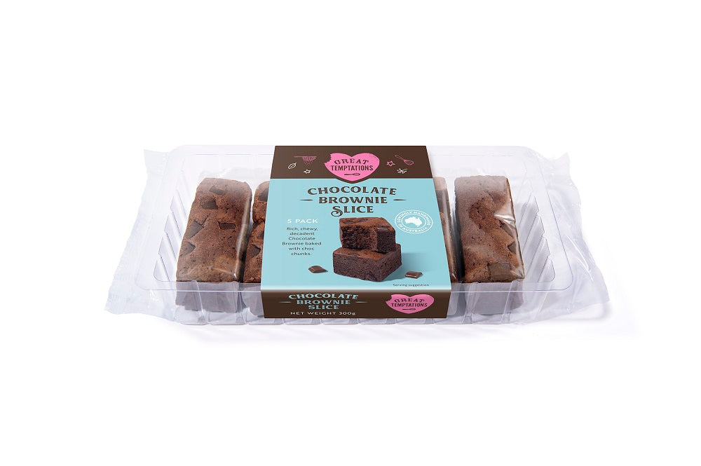 Brownie Slice 6 pack