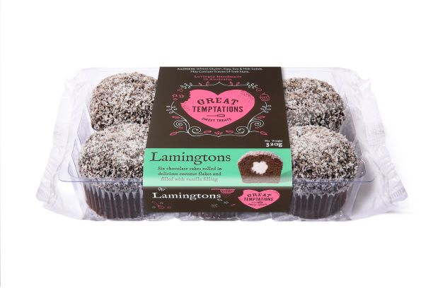 Lamingtons 6 Pack
