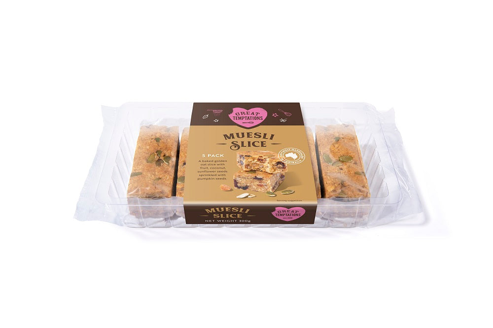 Muesli Slices 6 pack