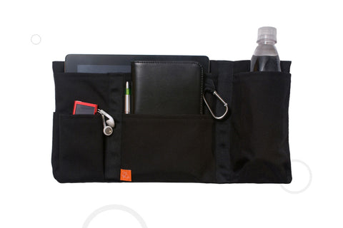 Zo&Co Tech TravelTote in-flight travel accessory holds iPad
