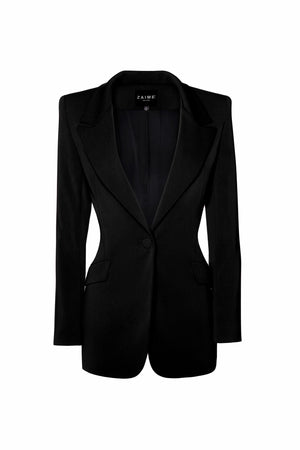 Janet Tailored Blazer - Black