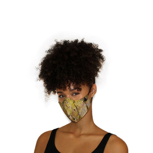 Reversible Face Mask - Yellow Tie Dye
