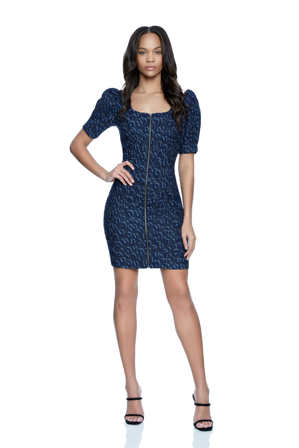 Madonna Puff Sleeve Mini Dress