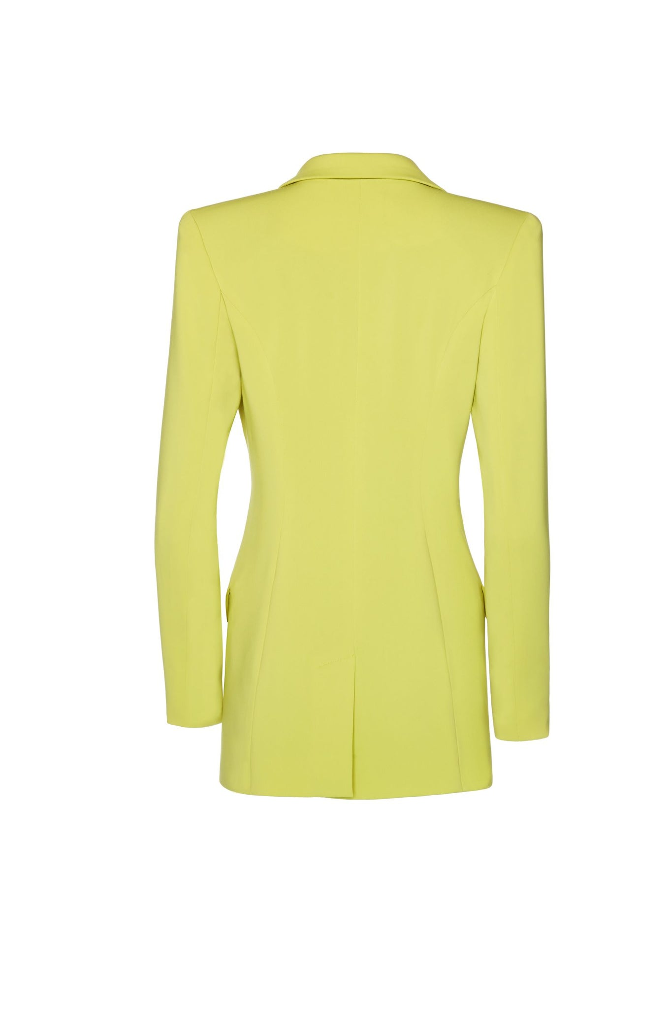 Janet Tailored Blazer - Citron