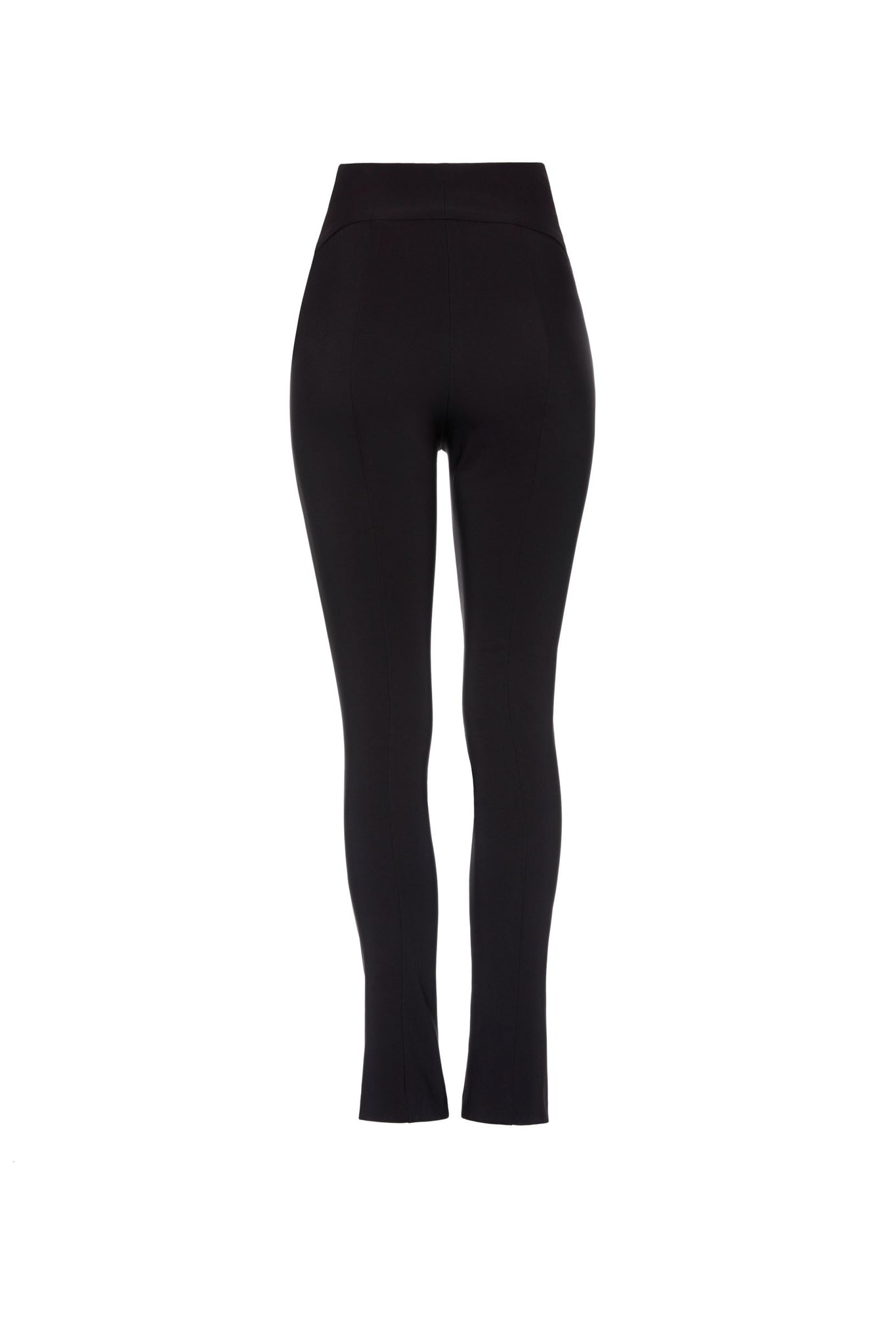 Naomi Super High Waist Pants - Black