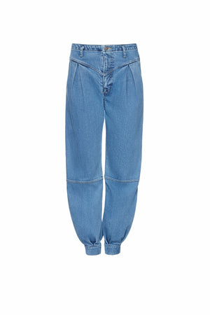 High Waist Balloon Leg Jeans