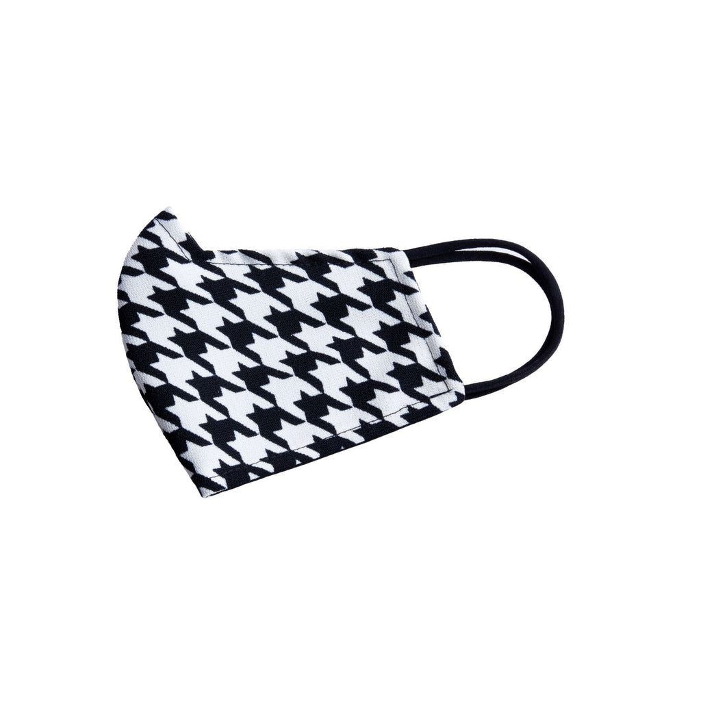 Reversible Face Mask - Houndstooth