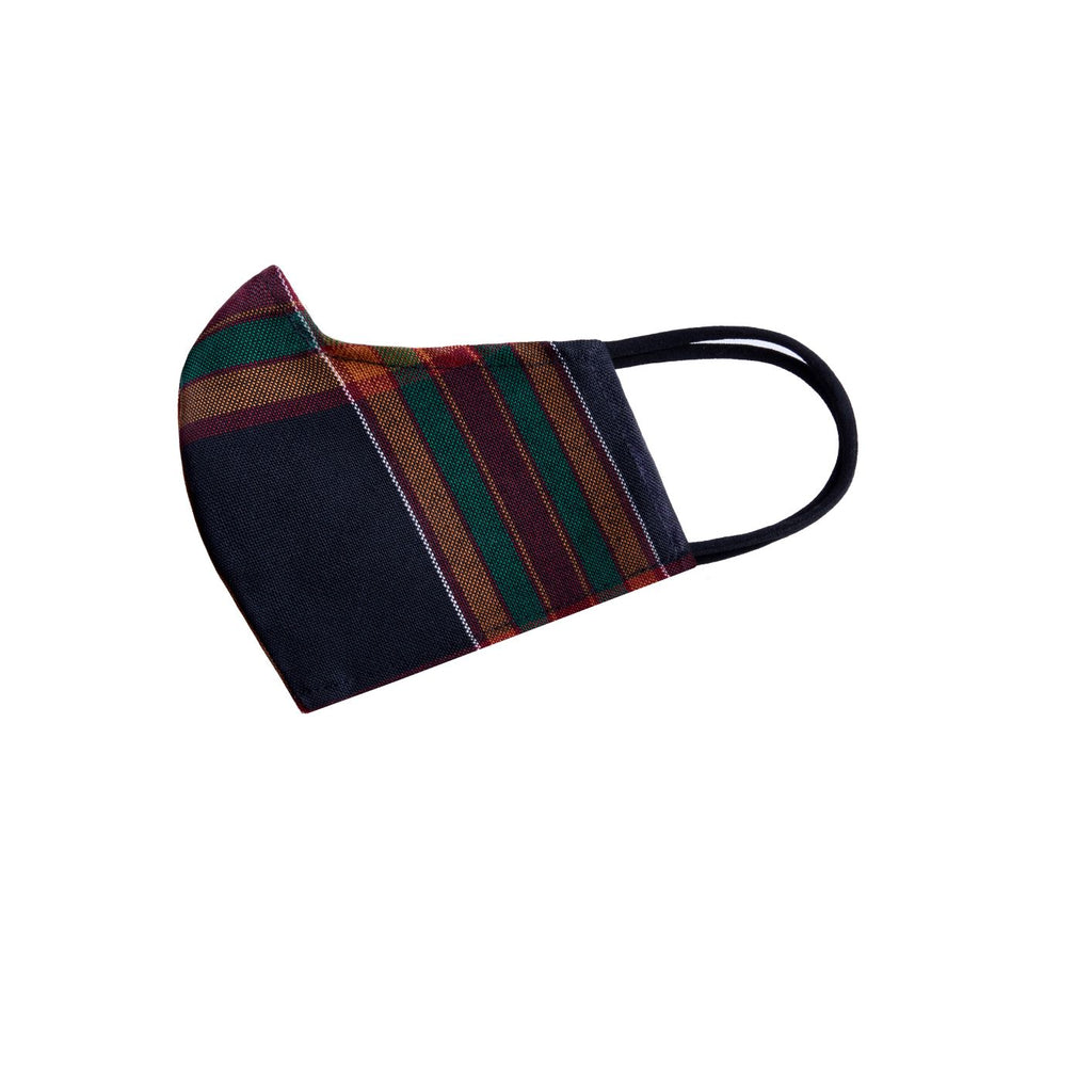 Reversible Face Mask - African Plaid