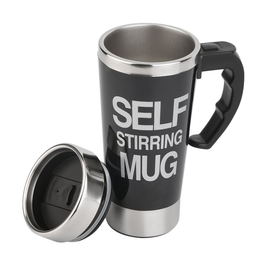 350ml Stainless Steel Self Stirring Mug
