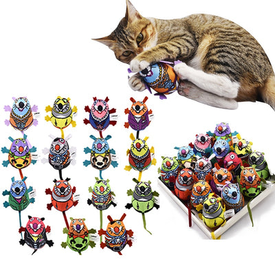 Cat Toys Interactive Inner Catnip And Bell