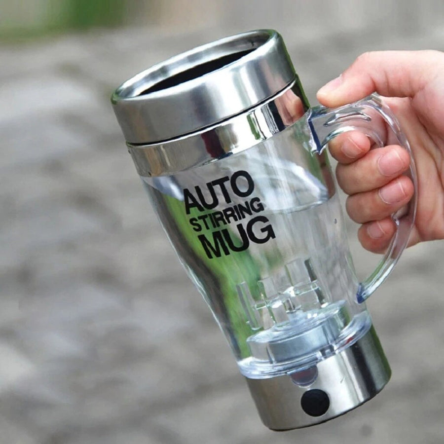 Self Stirring Electric Stainless Steel Coffee Tea Mug