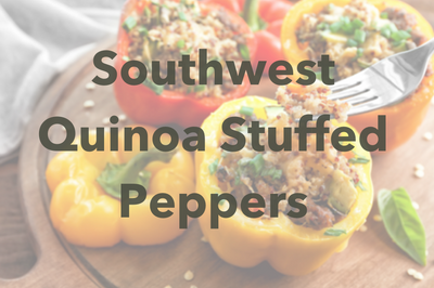 Southwest Quinoa Stuffed Peppers