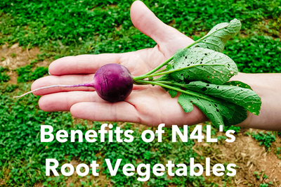 5 Remarkable Benefits of  Root Vegetables