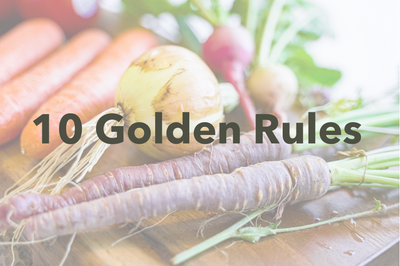 10 Golden Rules for a Healthy Lifestyle