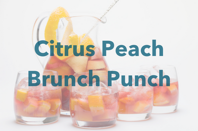 Citrus Peach Brunch Punch