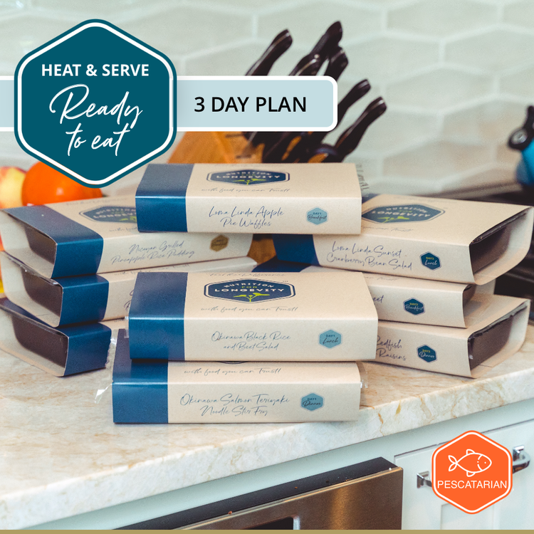 Heat & Serve - 3 Day Meal Plan - Pescatarian