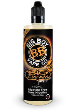 BIG CREAM</p>VanillaAlmondPecan 140ml