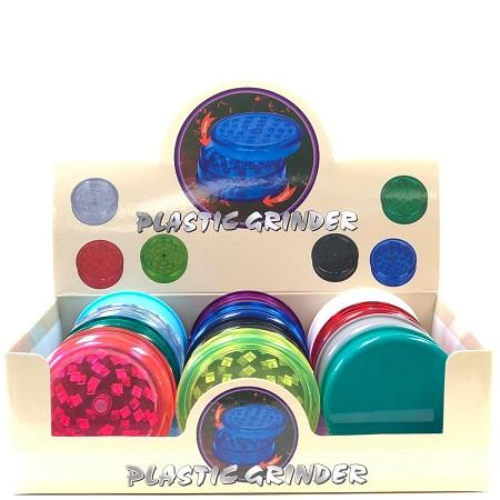 ACRYLIC 63mm 3-PIECE GRINDER