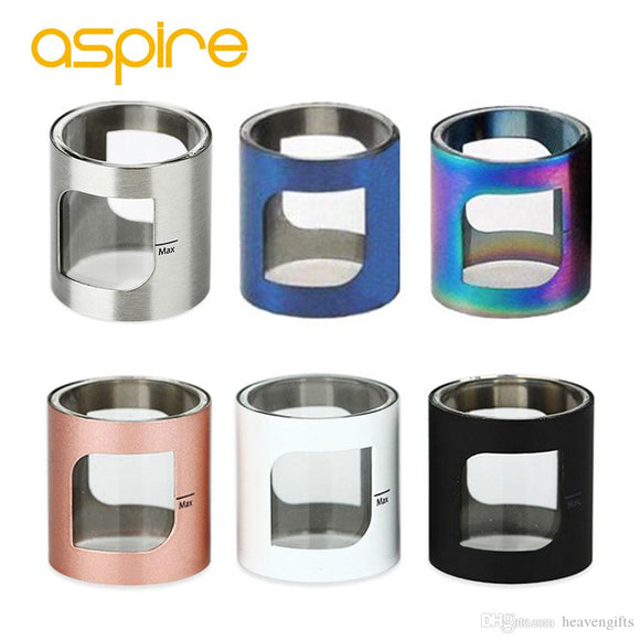 ASPIRE POCKEX 2ML PYREX TUBE with METAL COVER