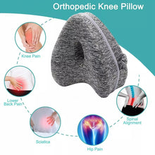 Load image into Gallery viewer, Heart Shaped Memory Foam Knee Pillow for Hip Pain Sciatica
