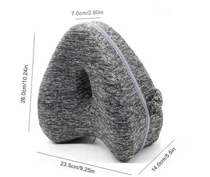 Heart Shaped Memory Foam Knee Pillow for Hip Pain Sciatica