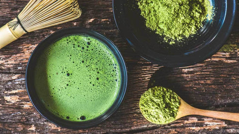 Celebrity detox tea fat burning Matcha Green tea
