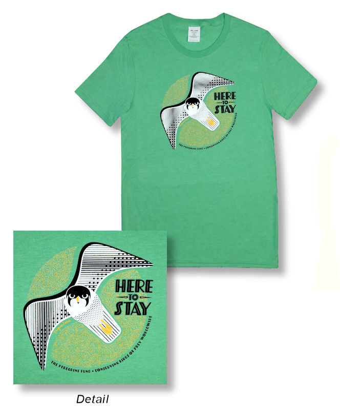Peregrine Falcon - Here to Stay Tee