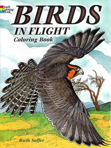 Birds in Flight Coloring Book