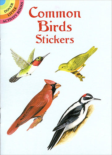 Dover - Common Bird Stickers
