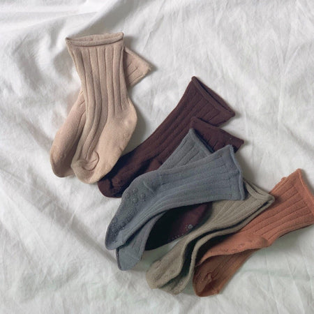 Fall Ribbed Socks - Smitn Bebe