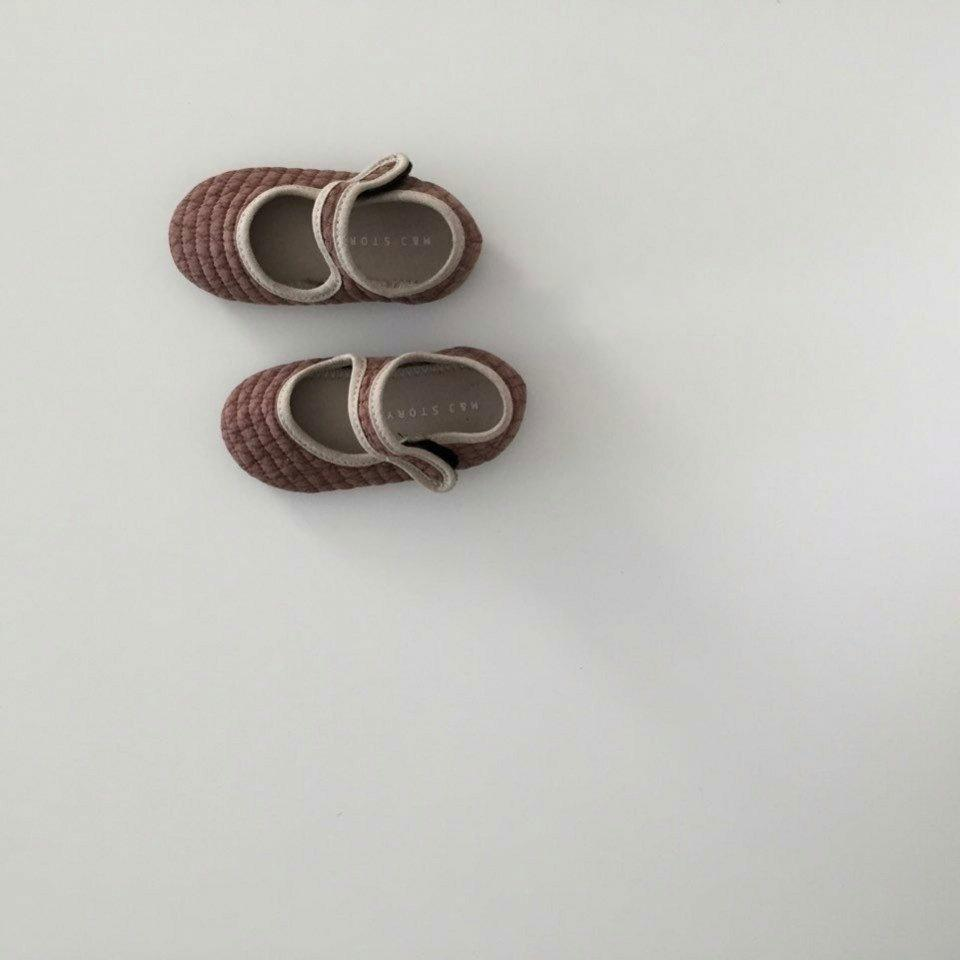 Mori Quilted Shoes (kids) - Smitn Bebe