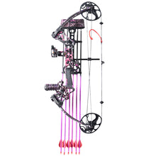 Load image into Gallery viewer, Compound Bow M1 for Women Package Hunting Bow for Girls,Whole Muddygirl Color