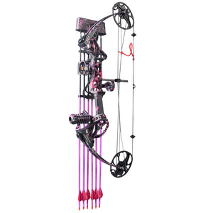 Compound Bow M1 for Women Package Hunting Bow for Girls,Whole Muddygirl Color
