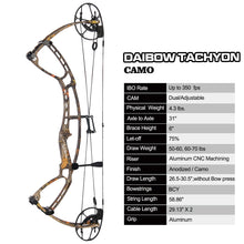 Load image into Gallery viewer, DAIBOW Tachyon High Speed Compound Bow Package
