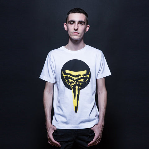 Golden Summer Tee - White
