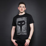 CLAPTONE T-Shirt: Skull Black - Men's